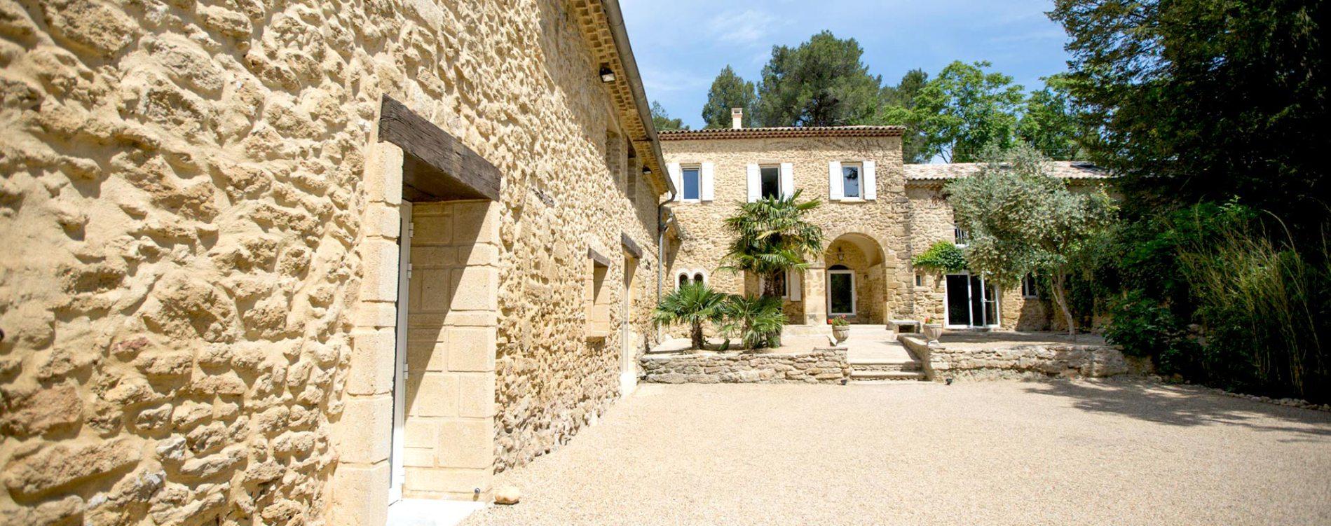 Abbaye du Grand Gigognan jardin