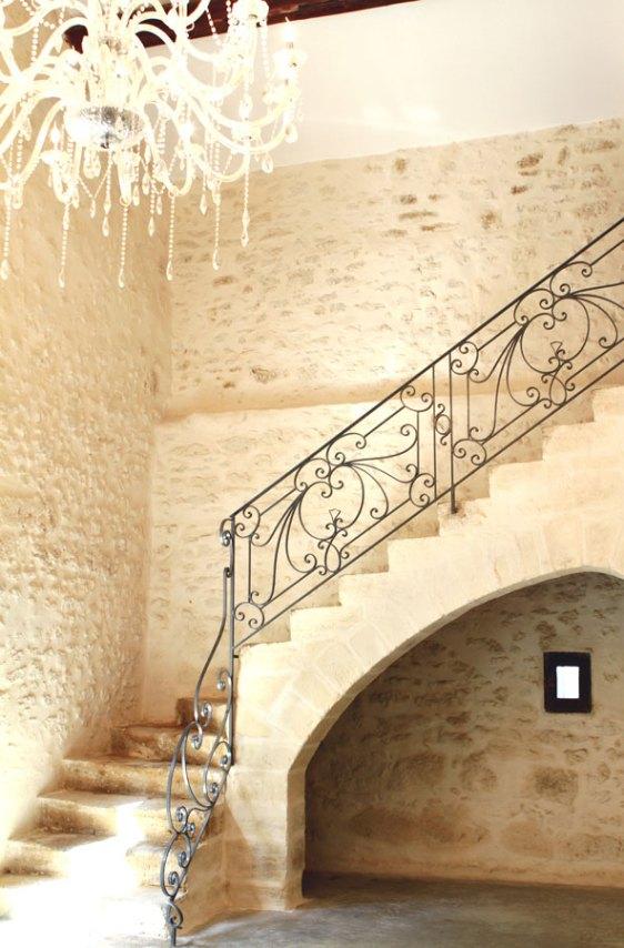 Salle voûtée Abbaye du Grand Gigognan