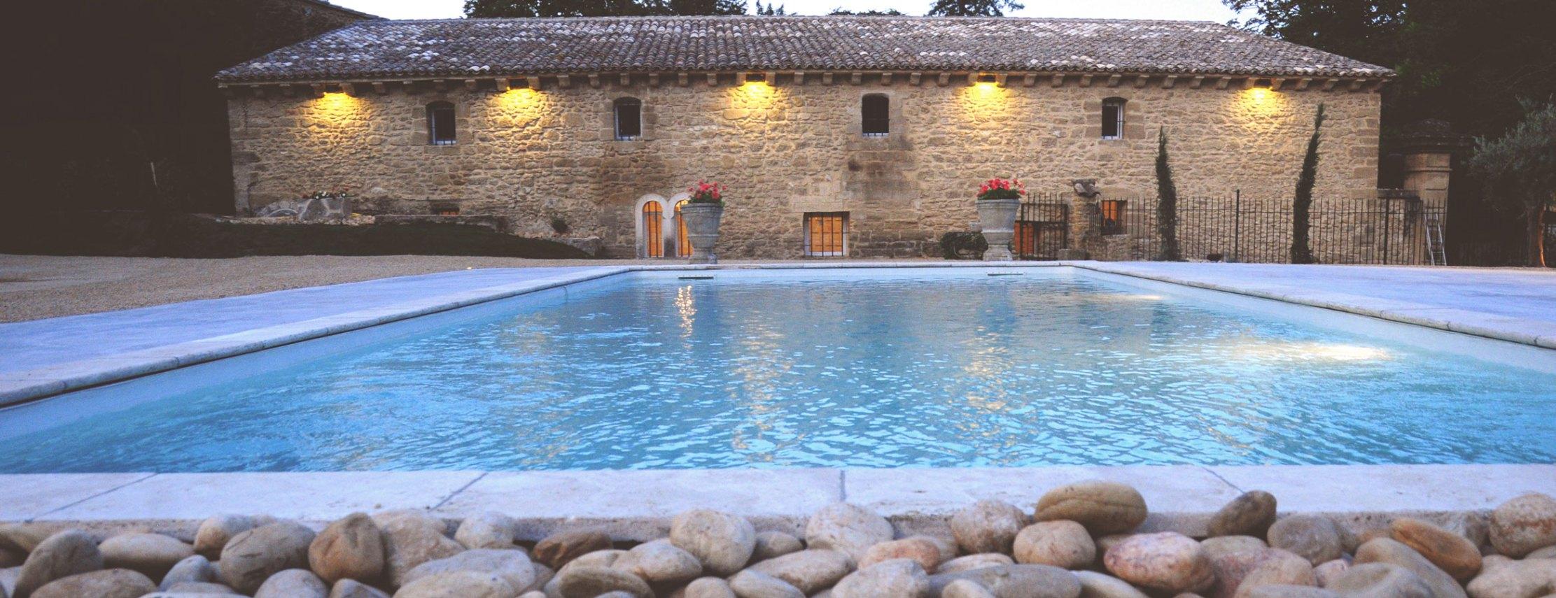 Piscine Abbaye du Grand Gigognan